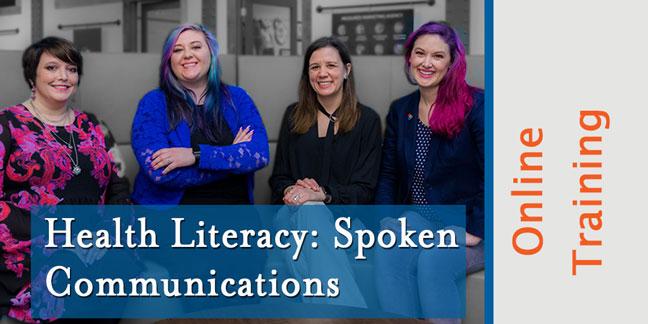 health literacy: spoken communications
